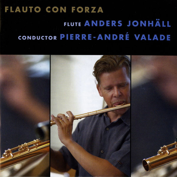 Flauto con forza - cd album cover
