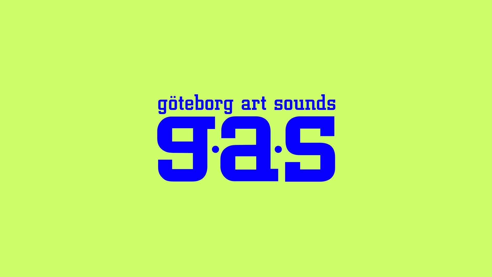 GAS-festivalens logotyp som den såg ut i början