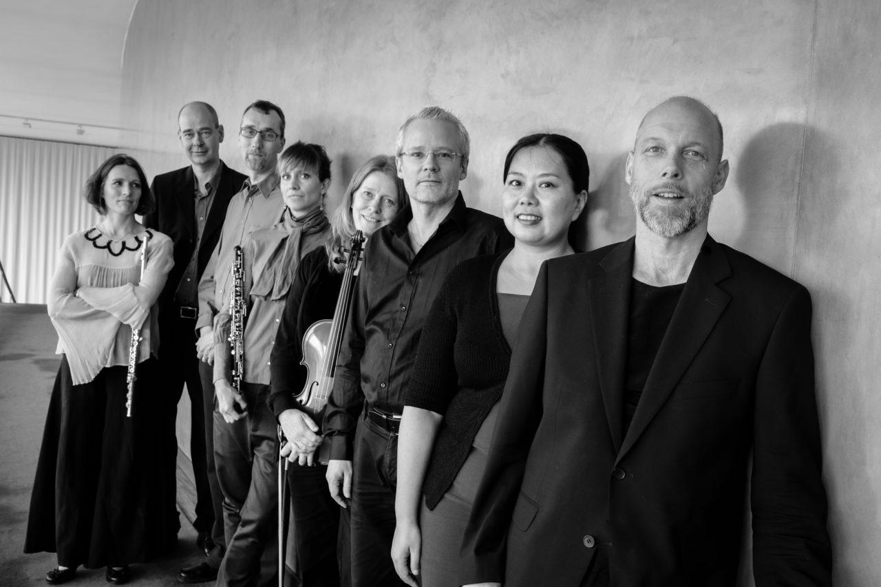 The ensemble Gageego! in Gothenburg Concert Hall. Photo: Johan Stern
