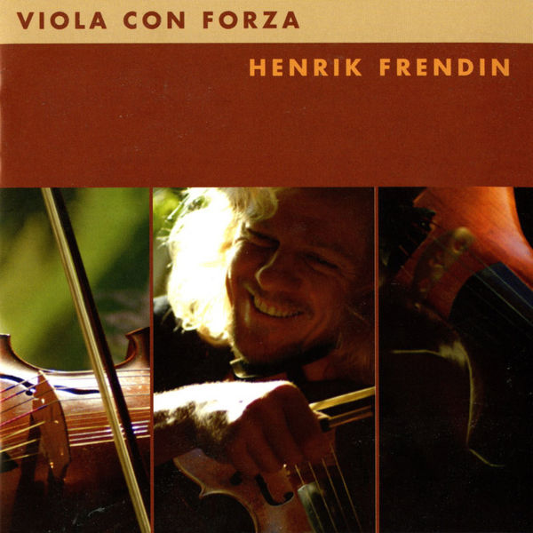Henrik Frendin: Viola con forza cd album cover