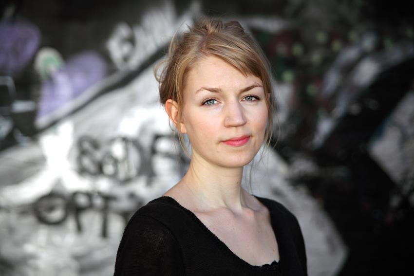 Violinisten Karin Hellqvist
