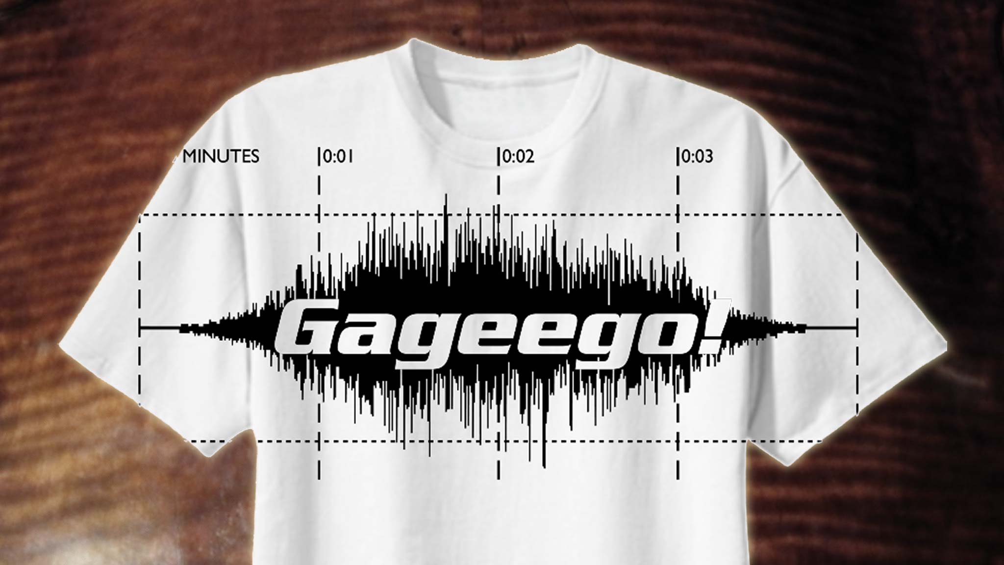 Gageego! Attitude Overprint T-shirt