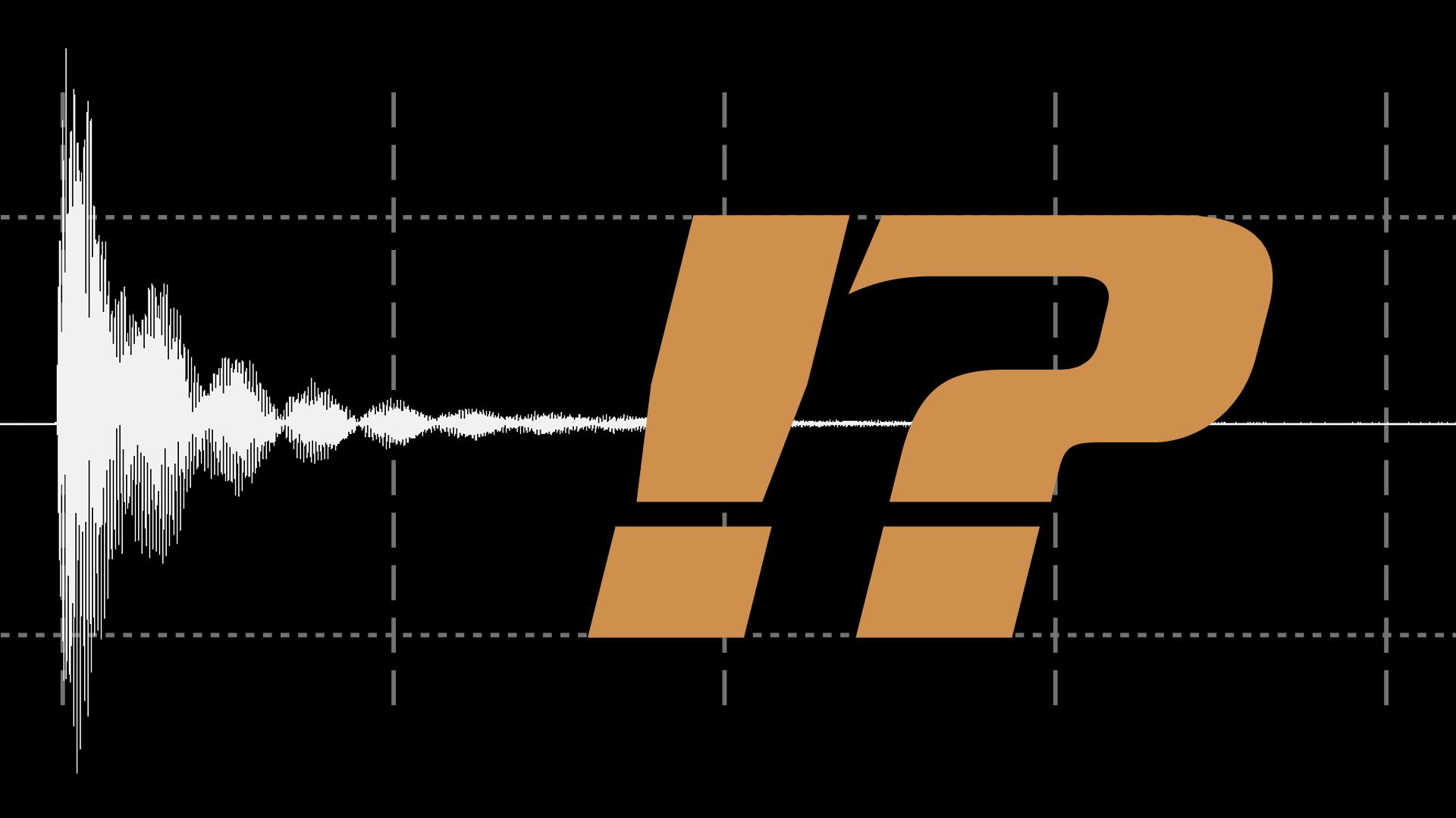 Gissa ljudet! - grafik med en vågform