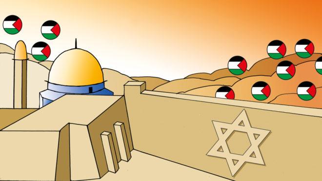 Konflikternas klanger: Jerusalem (illustration)