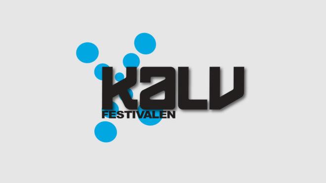 Kalvfestivalens logotyp. Design: Thomas Larsson, AD, Musik i Väst