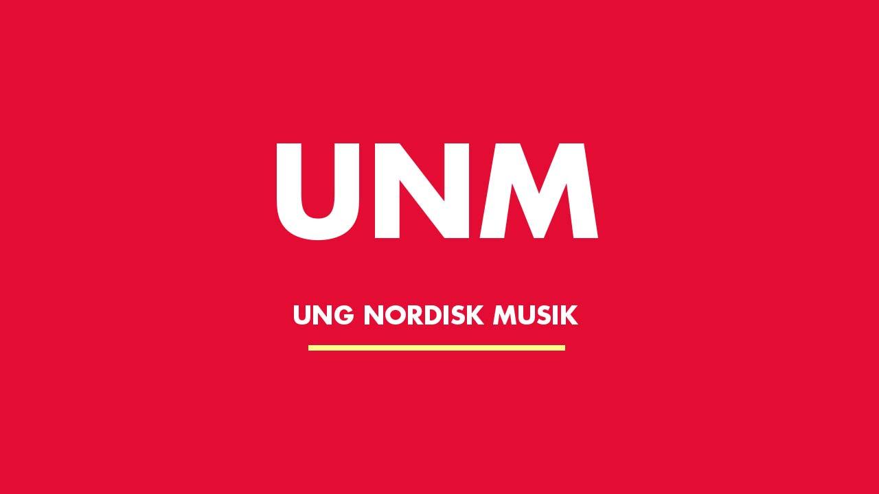 Ung Nordisk Musik - UNM - festivallogotyp