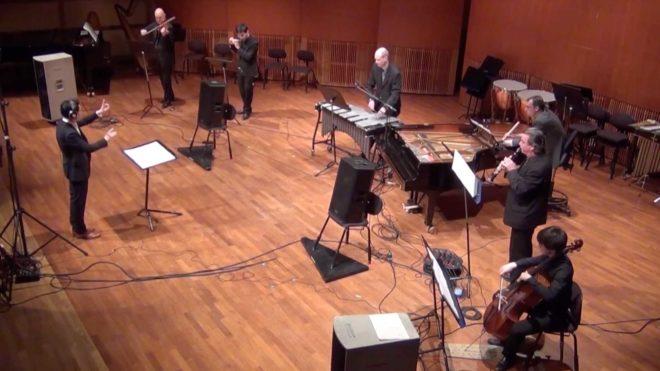 Skärmbild från YouTube: Gageego! under konsert